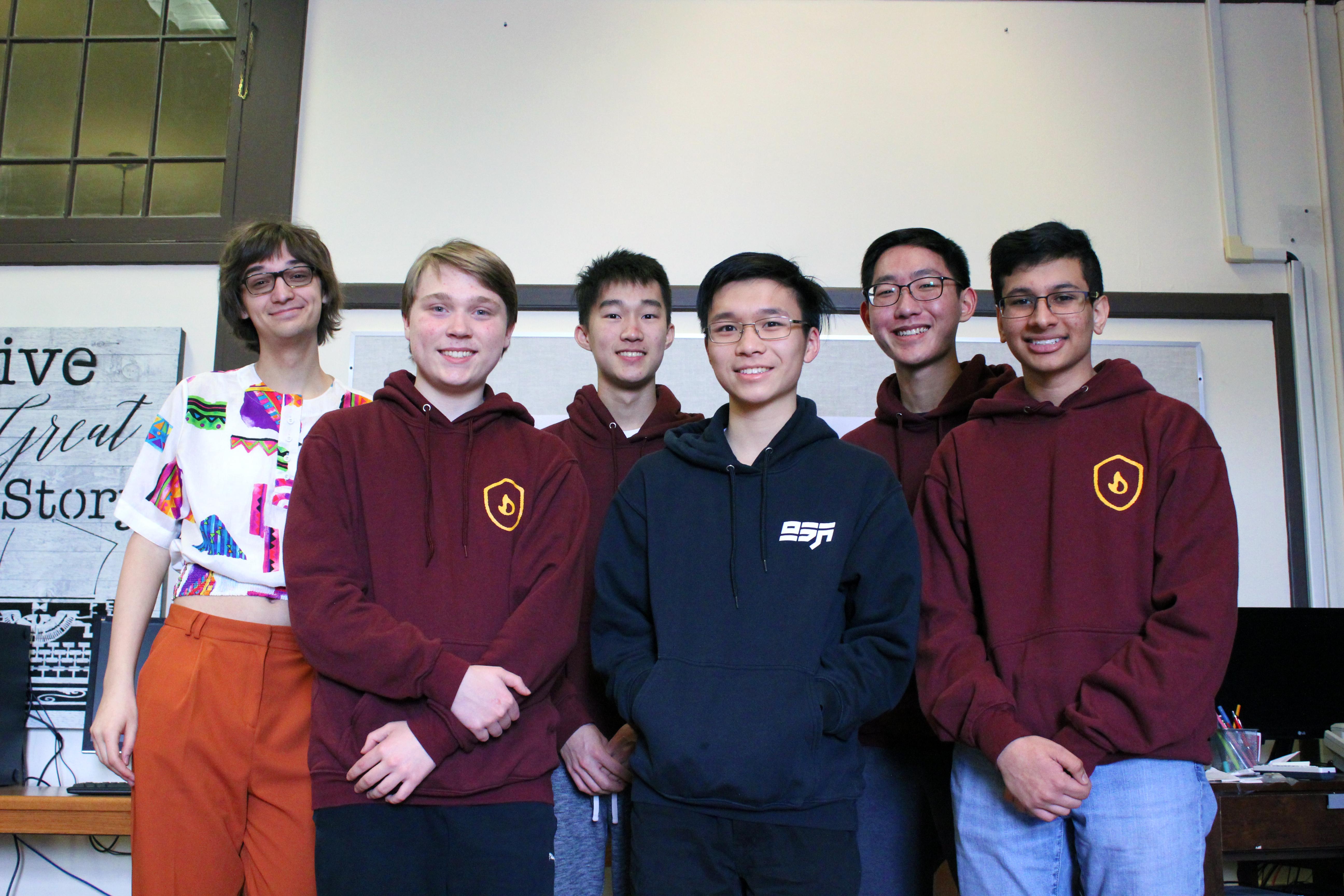 Meet the CyberTitans: Team Maroon