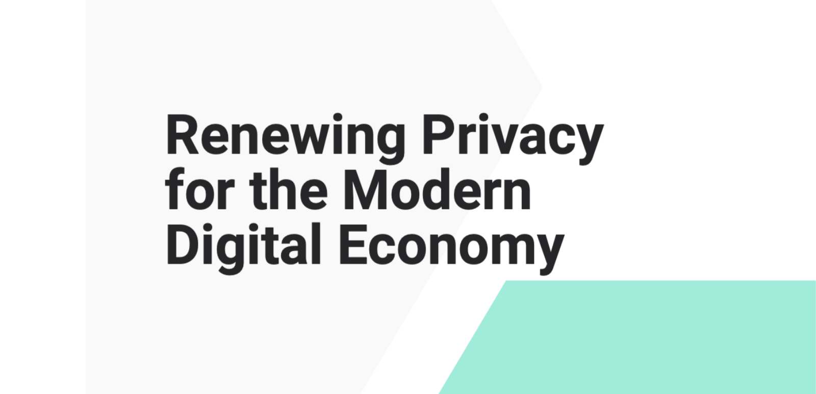 ICTC's Response to Ontario's Public Consultation on Privacy Protection: New Report