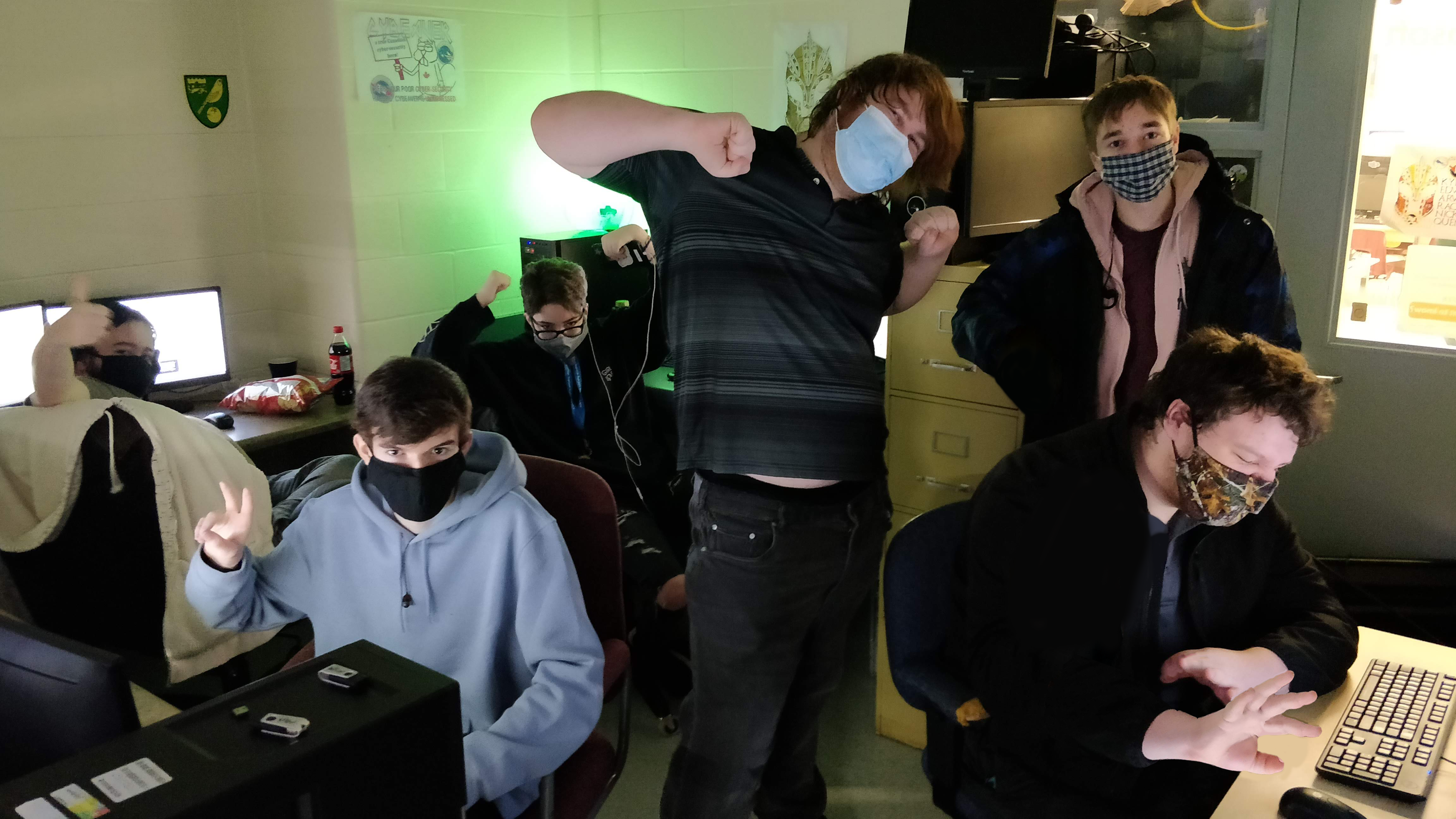 Meet the CyberTitans: Team FalconTech Plagueware