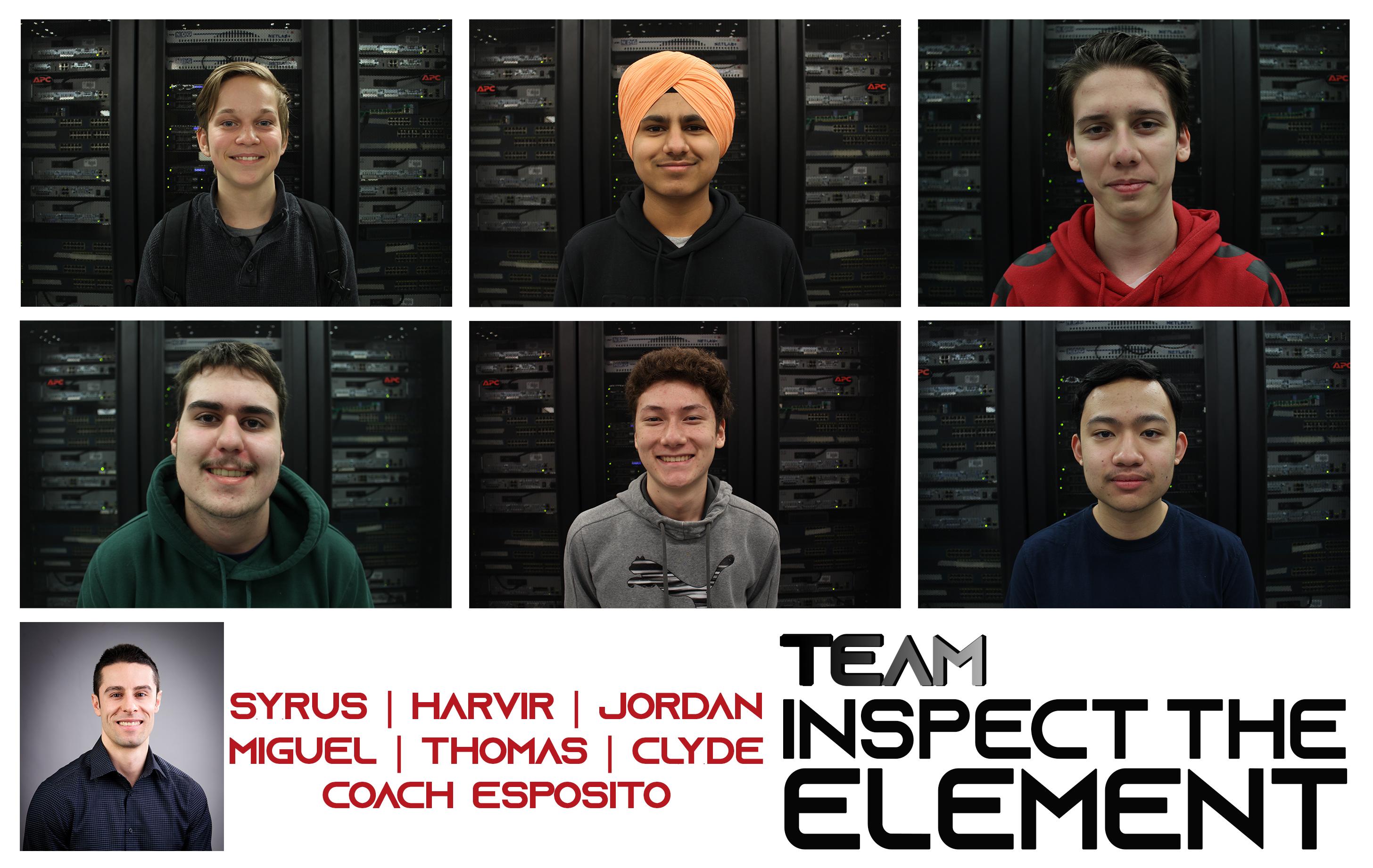 Meet the CyberTitans: Team Inspect The Element
